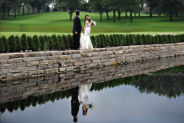 Oak Brook Wedding Bride and Groom