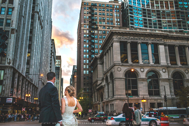Chicago Wedding Couple