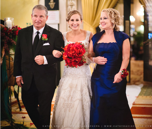 Bride and Parents