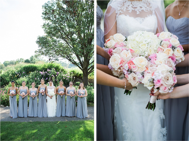White, Pink and Blush Bouquets
