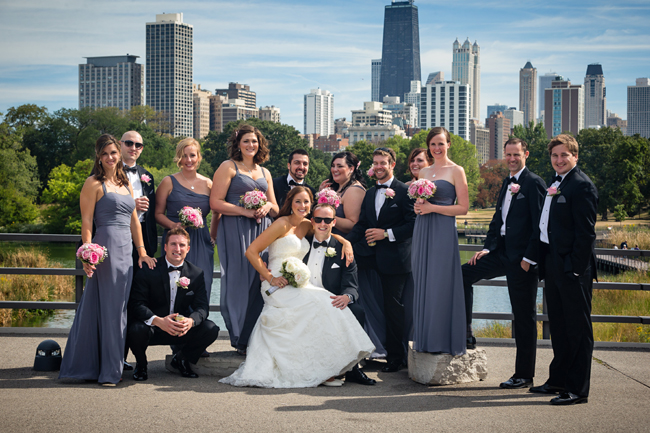 Wedding Party in Chicago
