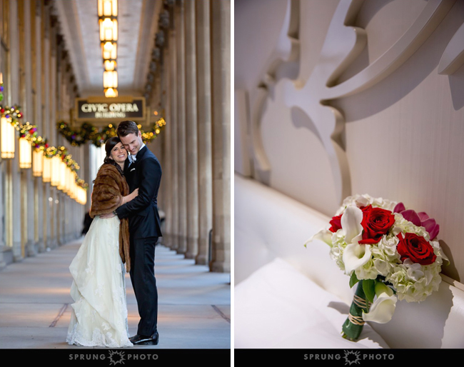 Civic Opera House Wedding
