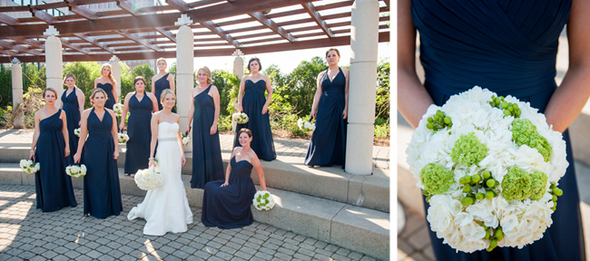 Bridal Party and Bouquet
