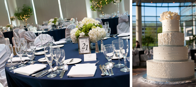 Reception Decor and Cake