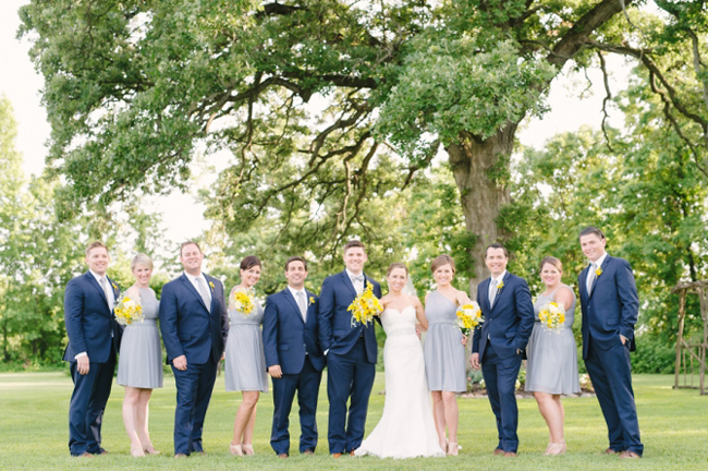 Apple Orchard Bridal Party