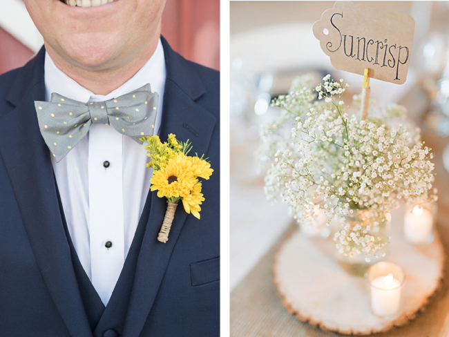 Boutonniere and Babys Breath