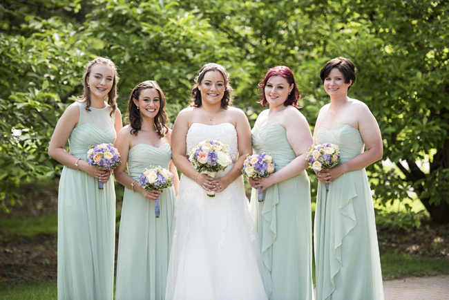 Elmhurst Bride and Bridesmaids