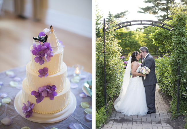 Purple and White Wedding Theme