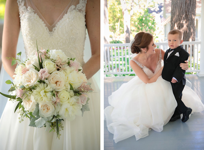 Bridal Bouquet and Ring Bearer