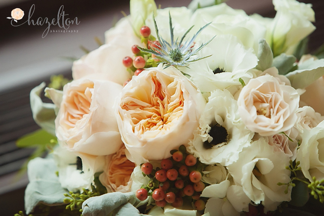 Bridal Bouquet with Juliet Roses