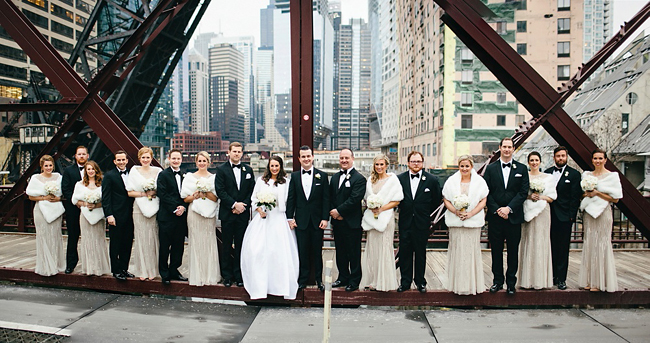 Downtown Wedding Party