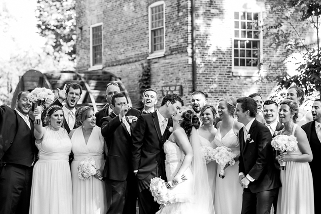 Graue Mill Wedding Party