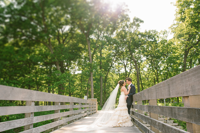 Scenic Outdoor Wedding Photo