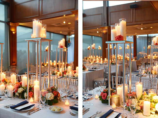Elevated Candle Centerpieces