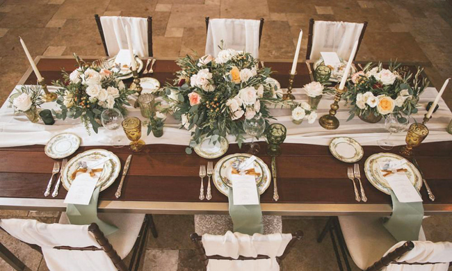 Tuscan Wedding Theme