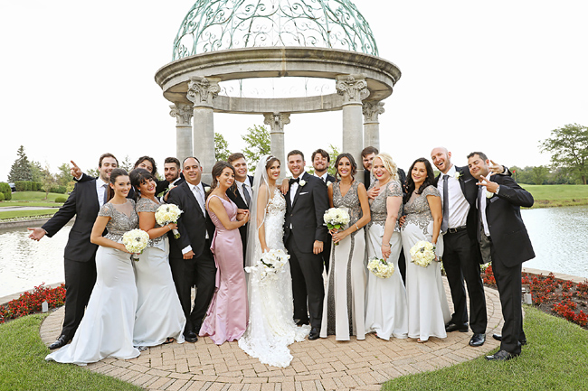 Tinley Park Wedding Party