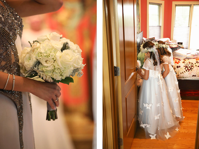 Bridesmaid's Bouquet and Flower Girls