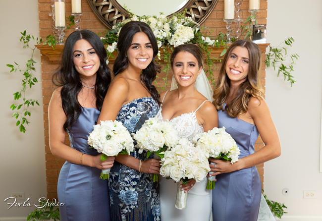 Lake Forest Bride and Bridesmaids